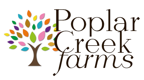 Poplar creek farms logo 2020